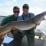 A fat, 47-inch northern pike