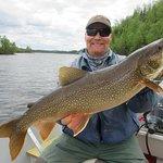 Nice lake trout