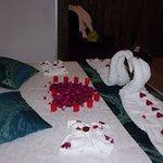 Délicate attention de Nacera pour nos 46 ans de mariage