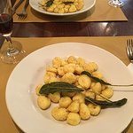 You have to get the Gnocchi! It was the best we had in all of Italy!
