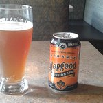 Hopgood beer from Nelson, B.C.