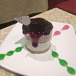 blueberry cheesecake!