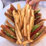 Iemand is ook dol op deze frietjes!!😉😎