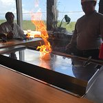 Great location, great food and great service.  Andy the chef for Katagi's Teppanyaki was fantast