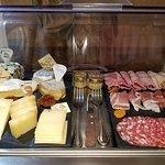 breakfast cheese board