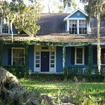 This house still sits on several acres. It is off the beaten path near the marina/winery.