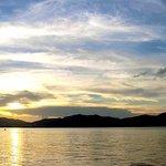 Ma On Shan Promenade, sunset
