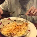 Mom (98) ate all her seafood entree & loved it!