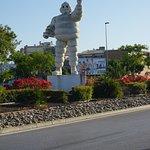 Michelin Bibendum Statue