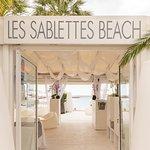 Foto de Les Sablettes Beach