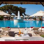 Bali Beds in swiming pool