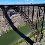 Perrine Bridge leading into Twin Falls