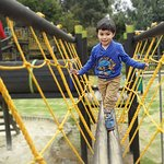 The game park is filled with non mechanical attractions. More than 10.000 square meters of fun
