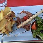 Tartare de bœuf à l'italienne 14€