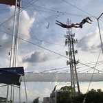 Miami Flying Trapeze - Layout catch no lines