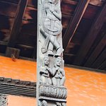 details on column in front of temple