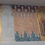 Klimt frieze in basement of the secession building 1
