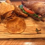 BLT and house chips