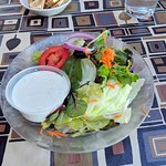 Plain Jane house salad.