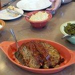 meatloaf, Candies Yans, Collard Greens, Creamed Corn
