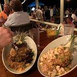 Shrimp and Fried Rice or Teriyaki Steak and Fried Rice