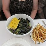 Delicious Mussels Frites