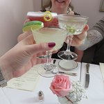 My St. Germain Street martini was DELICIOUS