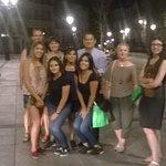 Belgas, mexicanos e irlandesas, conociendo Toledo por la noche, mil gracias y hasta pronto :)