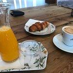 Buen desayuno.