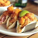 Crispy Shrimp Tacos-