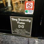 Dog Friendly Sign