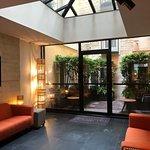 Lobby and garden