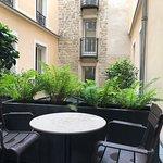 Our beautiful little terrace
