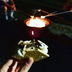 What's camping without a campfire and s'mores! Enjoy at Indian Rock!