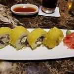 Crispy tofu sushi at Klay Talay! Delicious!