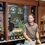 Beer tasting area