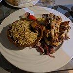 Poulet au resto libanais