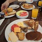 Petit déjeuner buffet du matin