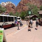 Zion National Park Free Shuttle