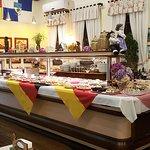 Buffet café colonial