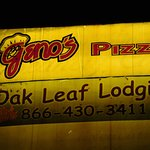 Geno's Outside Sign