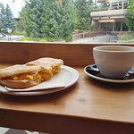 My breakfast at Mount Currie's