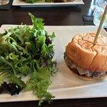 08-15-17 Burger with mushrooms & swiss