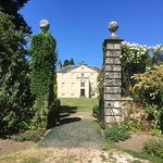 View of the house from the garden - pity about the grass