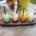 Signature margarita flights - mango was my favorite