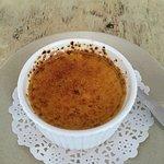 Creme brûlée - dessert in 3 course lunch