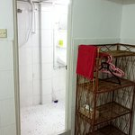 Shower room in triple room