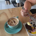 Good coffee and wicked cakes