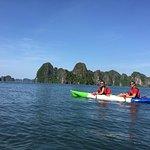 Kayak in Halong Bay!