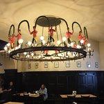 Zum Augustiner - chandelier